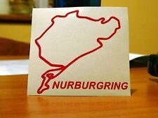Adesivo Nurburgring con nome circuito sticker decal (m3 sti s13 14 m5 wrx gti)
