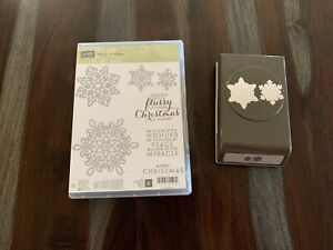 Stampin/' Up Lock-Down Paper Punch YOU CHOOSE Variety Assortment Snowflake Bird