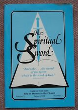 ROLE OF WOMEN IN THE CHURCH ~  Spiritual Sword ~ Alan Highers ~ Church of Christ