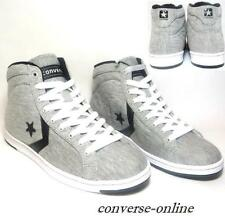 Womens Girls CONVERSE All Star GREY LADY PRO LEATHER HI Trainers Boots SIZE UK 5