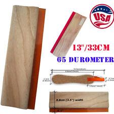 Usa 13 Silk Screen Printing Squeegee Scraper 33cm Scratch Board Waterbase 65
