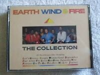 EARTH, WIND & FIRE: THE COLLECTION (GREATEST HIITS); 2 CASSETTE K-TEL SET; VG