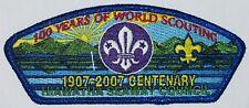 Hiawatha Seaway Council (NY) SA-85 2007 100 Years of World Scouting CSP  BSA