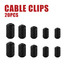 20Pcs Ferrite Anti-interference Filter RFI EMI Noise Suppressor Cable Clip New