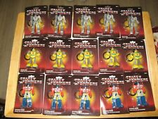 Transformers G1 Bag Clip Lot of 15  Optimus Prime-Megatron & Bumblebeee MISP