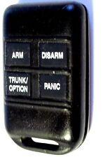 CodeAlarm remote alarm start starter transmitter entry 4 button clicker keyfob