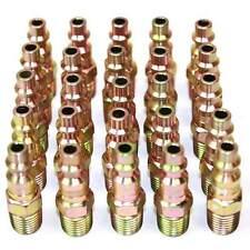 "25 pack 1/4"" male NPT thread Air line hose fitting nipples - CPH441-25K"