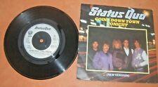 Vinyl 45 1982 Status Quo. Caroline (Live at the NEC). Vertigo label QUO 10. NM