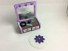Littlest Pet Shop Custom OOAK Furniture Accessories LPS Hand Made Purple S Lot