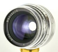 Jupiter-8 50mm f/2 Lens M39 Camera Leica FED Zorki