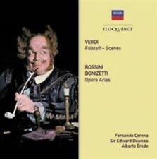 VERDI: FALSTAFF - SCENES; ROSSINI, DONIZETTI: OPERA ARIAS NEW CD