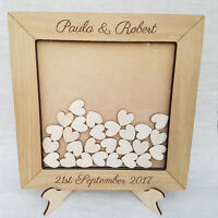 Wedding Guest Book Personalised Drop Box Alternative