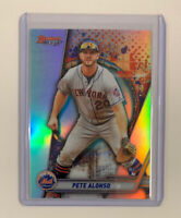 🔥PETE ALONSO RC 2019 Bowman's Best REFRACTOR #32 New York Mets Rookie📈