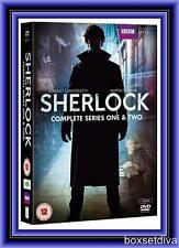 SHERLOCK - COMPLETE SEASONS 1 & 2 *BRAND NEW DVD BOXSET*