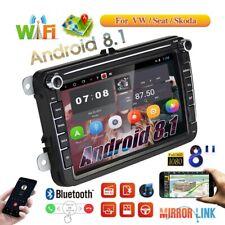 "Autoradio GPS Navi 8""2DIN Android BT pour VW GOLF 5 6 Passat Touran Tiguan Polo"