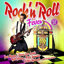 CD Rock'n Roll Fever by Various Artists 4CDs