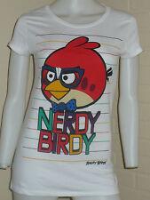 NEW ANGRY BIRDS NERDY BIRDY STRIPE SHIRT KAWAII JAPAN XL