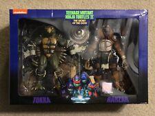 NECA Teenage Mutant Ninja Turtles II The Secret of the Ooze - TOKKA and RAHZAR