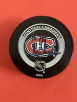 KEN DRYDEN MONTREAL CANADIENS AUTO/SIGNED PUCK HALL OF FAMER ** VERY RARE **
