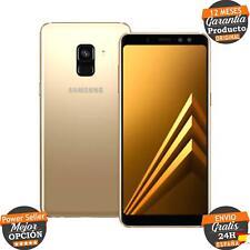 Samsung Galaxy A8 2018 SM-A530F 32 GB Dorado Single SIM Libre   B PR