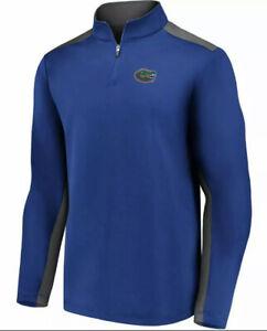 Fanatics Men's Florida Gators Football Primary Logo 1/4 Zip Jacket Large L