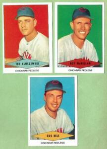 CINCINNATI REDS ~ 1954 Red Heart Dog Food Reprint Lot ~ FREE SHIPPING