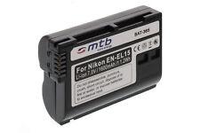Batería EN-EL15 para Nikon 1 V1 / Nikon DLSR D600, D800E, D800, D7000, D7100