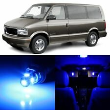 14 x Ultra Blue Interior LED Lights Package For 1995 - 2005 GMC Safari +TOOL