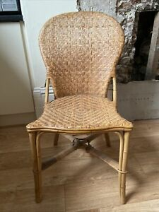 John Lewis Cane / Wicker Dining Chairs, Set of 4