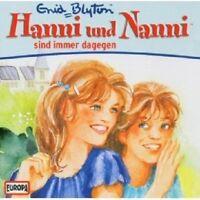 "HANNI UND NANNI ""SIND IMMER DAGEGEN (FOLGE 01)"" CD HÖRBUCH NEUWARE"