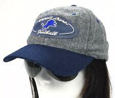 e65bea22bdddf vtg Sports Specialties Detroit Lions NFL Adjustable Leather Strapback Hat  Cap