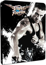Street Fighter Blu-ray Steelbook from Zavvi IN the UK New