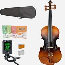 Very Nice Vintage Violin 4/4 Violin Full Size Violin+CASE BOW String+ Tuner