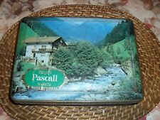 Pascall Toffees Sweets Claremont Tasmania 750 gm tin European Village Scene