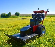 Rock Machinery Blitz BC-66 Walk Behind Field and Brush Mower Cutter