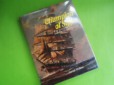 CHAMPION OF SAIL R W LEYLAND & HIS SHIPPING LINE BY WALKER 1st ED HC DJ