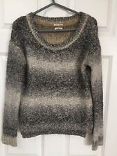 Women's Tommy Hilfiger Brown chunky Jumper Size S ( 10 )