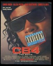 1993 Chris Rock photo CB4 movie release print ad