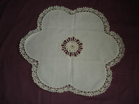 #364 Beautiful Vintage Hand Made Doily  21''(53cm)