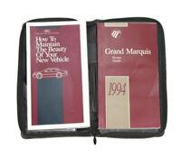 1994 Mercury Grand Marquis Factory Original Owners Manual Portfolio #5
