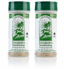 Everglades Seasoning 2 Pack Original All Purpose  8oz BBQ Deer Meat Spices