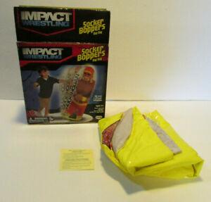 hulk hogan spike impact wrestling socker boppers bop bag big time 2011