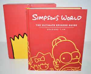 Simpsons World The Ultimate Episode Guide Seasons 1-20 Harper Books 1200 Pages