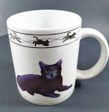 Houston Harvest Cat Lovers Limited Turkish Van Cat & Chartreux Cat Mug Cup