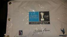 Charles Schwab Cup Championship pin flag colin montgomerie Tom Watson pga