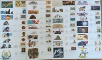 US FDC Lot of 37 1976-1977 Collection Postmasters of America First Day Covers