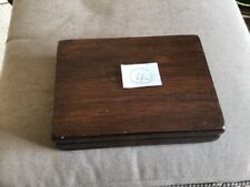 VERY NICE WOODEN FLY BOX WITH OVER NINETY TROUT FLIES   , Please see all photos