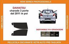 pellicola oscurante vetri dahiatsu charade 3p dal 2011 kit anteriore