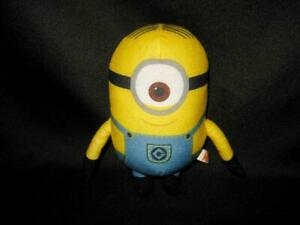"Despicable Me Minion STUART Plush Stuffed Animal Doll Toy 6"" By Toy Factory 2015"