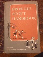 1951 1959 BROWNIE SCOUT HANDBOOK - Girl Scouts - GSA - Vintage